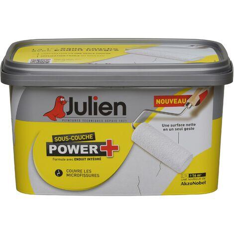 Sous-Couche peinture avec enduit intégré Power+ aspect Mat Blanc 2,5L - Julien