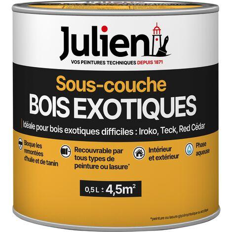 Sous-Couche pour Bois Exotiques Et Résineux Blanche - Julien