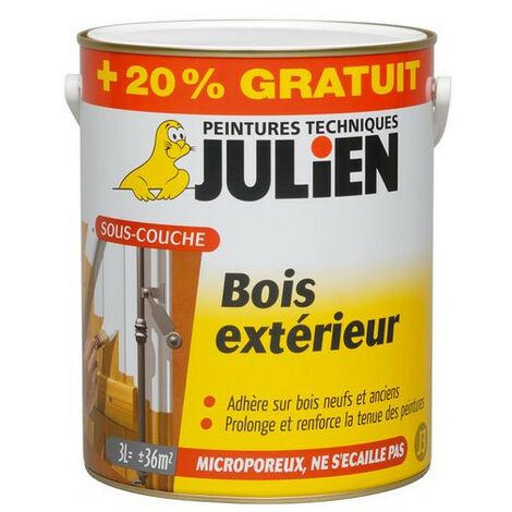 Sous-Couche pour Bois Extérieur Blanche - Julien