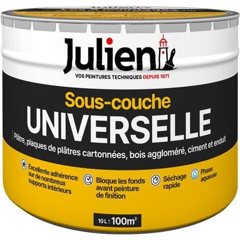 Sous-Couche Universelle avant peinture - aspect Mat Blanc 10L - Julien