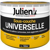 Sous Couche Universelle Avant Peinture   Aspect Mat Blanc 10L   Julien