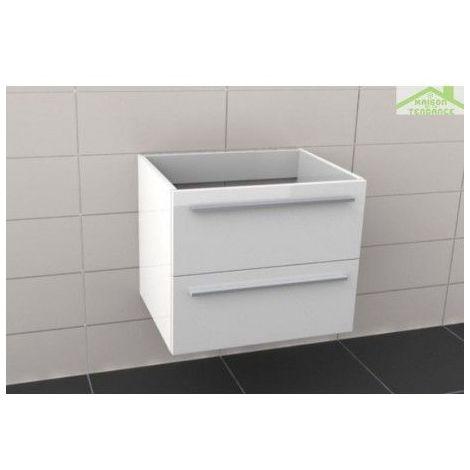 Sous meuble de lavabo RIHO BRONI 60x48x H 50,5 cm - Bois laqué satiné mat