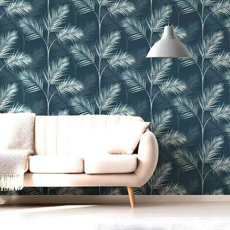 south beach FD42681 Navy Wallpaper