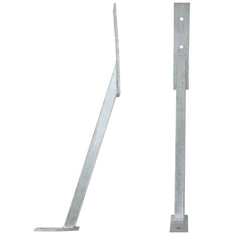 soutien post ancre du vent ancre de clôture longueur 66 cm
