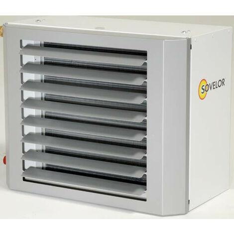 Sovelor - Aérotherme à eau suspendu 43KW (EAU 90°C/ AIR 12°C) - CALIS 430