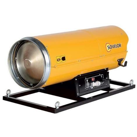 Sovelor - Chauffage Air pulsé avec brûleur au fuel suspendu combustion directe 1060W 230V/50Hz - HP110S