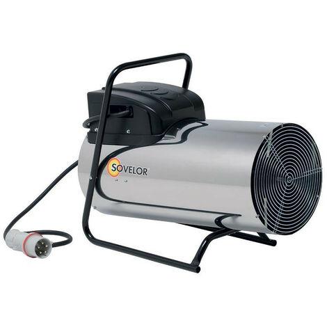 Sovelor - Chauffage air pulsé inox mobiles électriques gainables 22 KW 3050 m3/h 380V - D22I