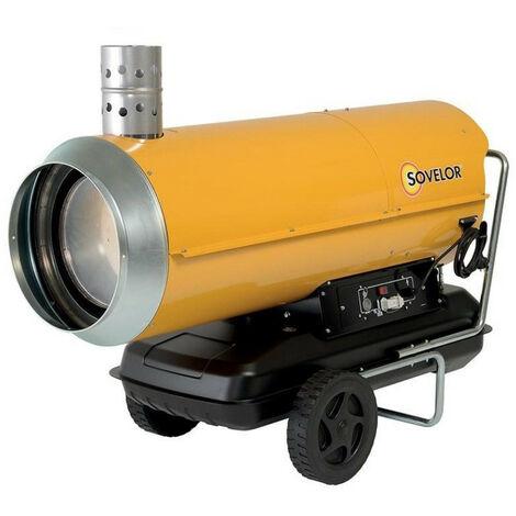 Sovelor - Chauffage air pulsé mobile au fuel à combustion indirecte Puissance élec. 1060W - HPV 85