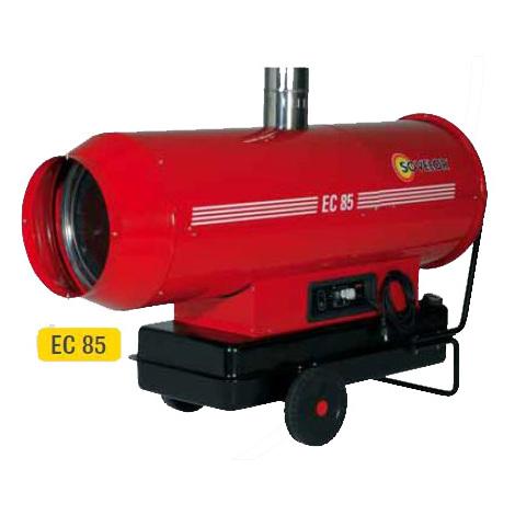 Sovelor - Chauffage air pulsé mobile au fuel à combustion indirecte Puissance élec. 1140W - EC85