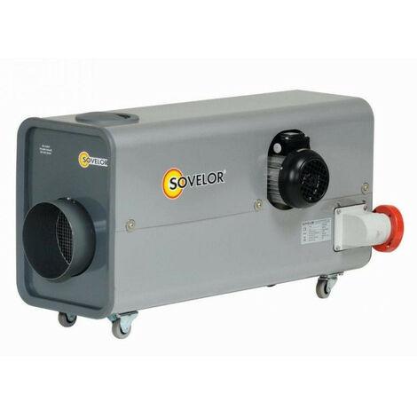Sovelor - Chauffage Air pulsé mobile électrique 13kW 380V très haute température - ETV12