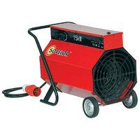 Sovelor - Chauffage air pulsé mobile électrique 15Kw - C15