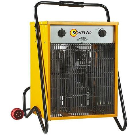 Sovelor - Chauffage air pulsé mobile électrique 22Kw - C22