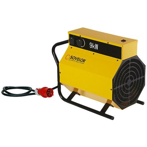 Sovelor - Chauffage air pulsé mobile électrique 9Kw- C9