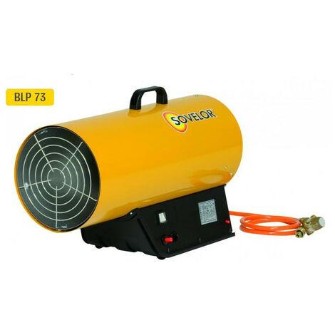 Sovelor - Chauffage air pulsé mobile gaz propane à combustion directe allumage automatique 220W - BLP73E