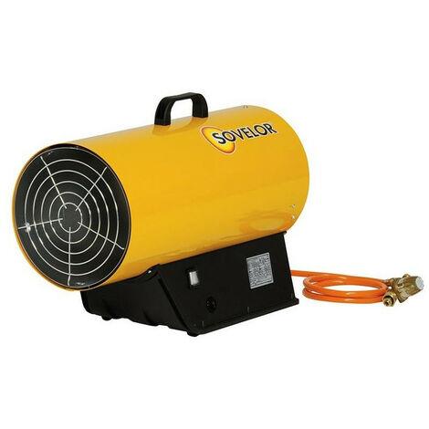 Sovelor - Chauffage air pulsé mobile gaz propane à combustion directe allumage manuel 100W - BLP53M