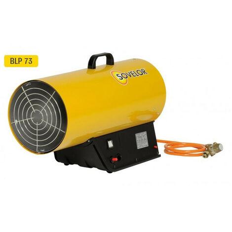 Sovelor - Chauffage air pulsé mobile gaz propane à combustion directe allumage manuel 220W - BLP73M