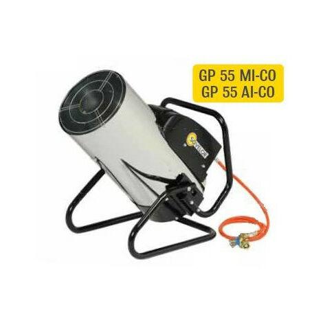 Sovelor - Chauffage air pulsé mobile gaz propane allumage manuel châssis orientable Puissance élec. 112W - GP55MI-CO