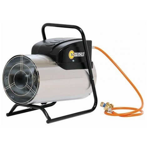 Sovelor - Chauffage Air pulsé portable au gaz propane 90W 230V - GP35MI-CO