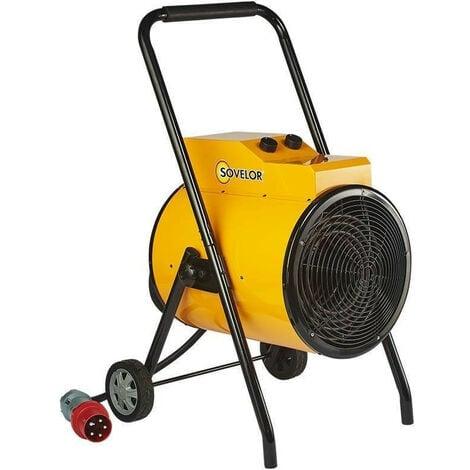 Sovelor - Chauffage air pulsé portable avec roues électrique 380V~3 50 Hz 30 kW - C31
