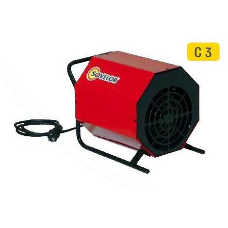 Sovelor - Chauffage air pulsé portable électrique 230V~1 50 Hz - C3/S