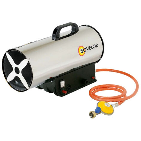 Sovelor - Chauffage Air Pulsé portable gaz propane allumage manuel 33kW 230V - MG330
