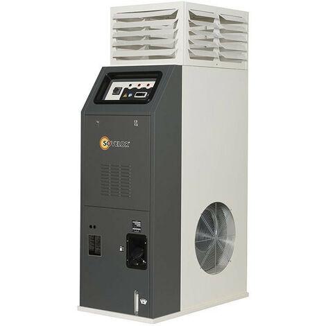 Sovelor - Chauffage d'atelier à air pulsé au fuel/gasoil 70,8kW 6000m3/h - F75