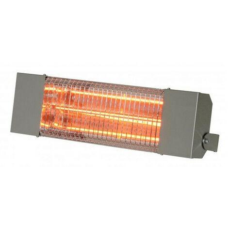 Sovelor - Chauffage électrique infrarouge halogène à quartz 1500W en inox 304 - IRC1500X