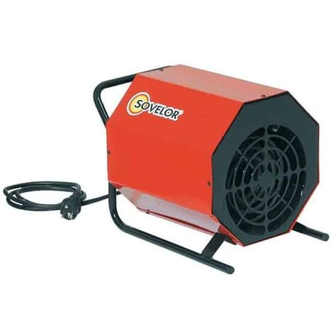 SOVELOR Chauffage électrique portable air pulsé 3.3Kw - C3