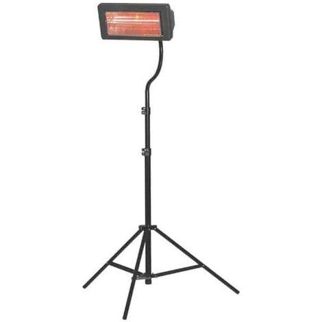 SOVELOR Chauffage électrique portable rayonnant halogène - MT22