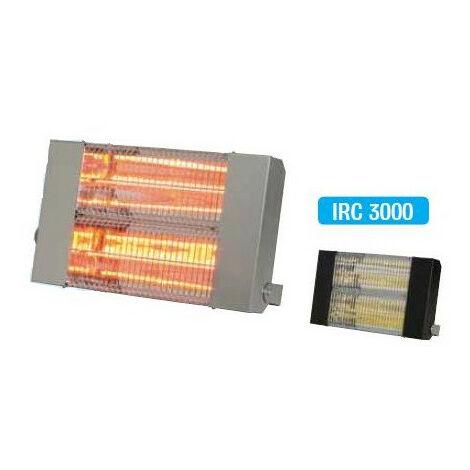 Sovelor - Chauffage radiant électrique inox infrarouge halogène quartz 3000W - IRC3000CI