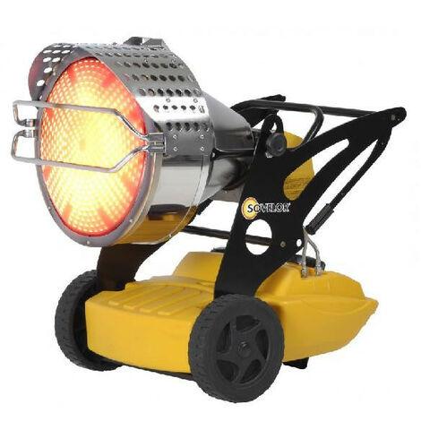 Sovelor - Chauffage radiant mobile Fioul 43kW (sans cheminée)-Flash 1