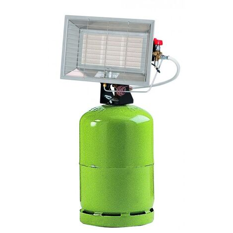 Sovelor - Chauffage radiant mobile Gaz Butane 6300W - SOLOR6300CAB