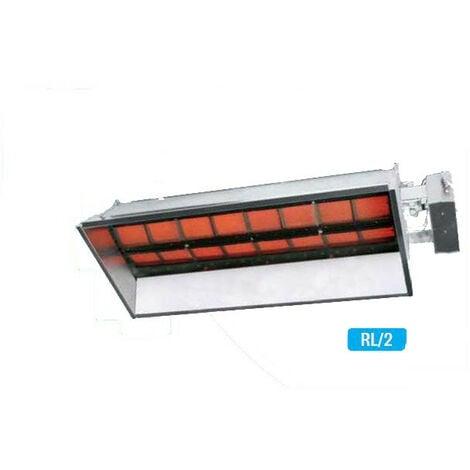 Sovelor - Chauffage rayonnant infrarouge avec brûleur gaz naturel 2 allures - RL14-2GN