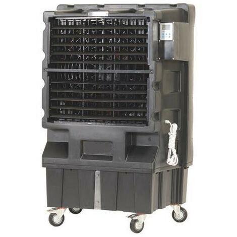Sovelor - Climatiseur évaporatif mobile sur roue débit d'air maxi 12000 m3/H 230V pour 80 à 150 m2 - COLD120