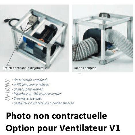Sovelor Collier Diam 125 à 160 Mm Pour Fixation Gaine De Soufflage Sur V1 Acc135