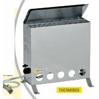 Sovelor - Convecteur thermostatique mobile au gaz Butane 4000W -THERMIB