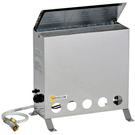 Sovelor - Convecteur thermostatique mobile au gaz Propane 4000W -THERMIP