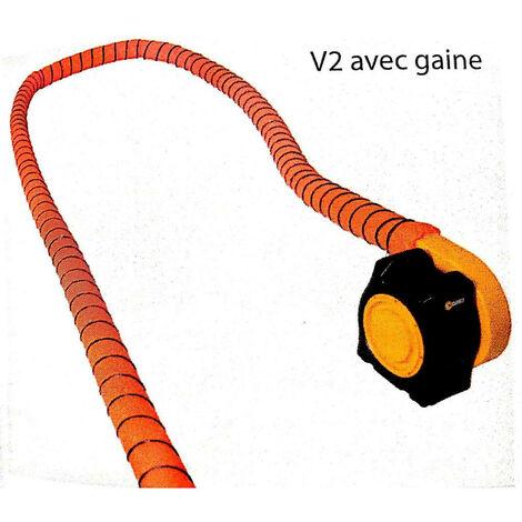 Sovelor - Gaine souple de soufflage D.150 lg 12m - ACC13