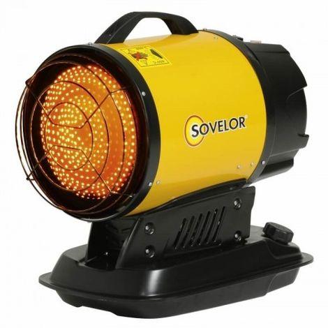 SOVELOR- Minisun- chauffage radiant portable au fuel