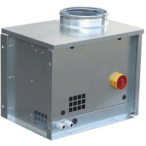 s&p cacbmv005i   unelvent 230560 - cacbmv005i - caisson c4 500 m3/h flux a 90deg diametre raccord reseau 200 mm inter