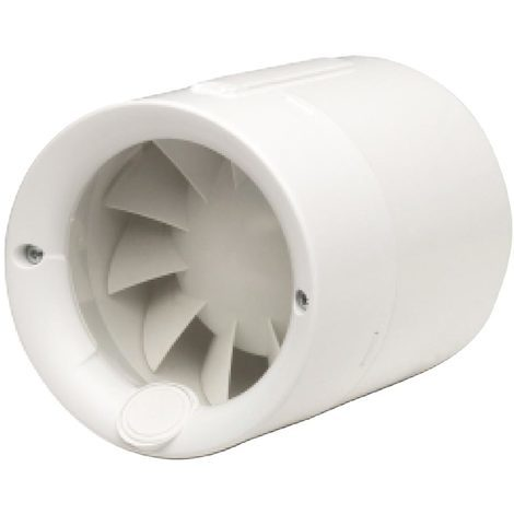 s&p silentub100   unelvent 257000 - silentub100 - extracteur silencieux pour reseau de gaines 100m3/h d100 mm