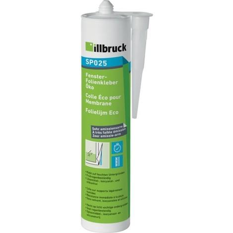 SP025 Colle pour support légèrement humide 310ml Illbruck (Par 12)