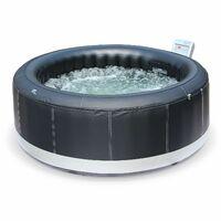 spa gonfiabile x 4 persone, rotondo 180cm nero - modello: Camaro | spa piscine | alice's garden