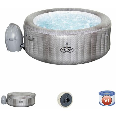 Spa Gonflable Bestway Lay- Z-Spa Cancun Pour 2-4 personnes Rond