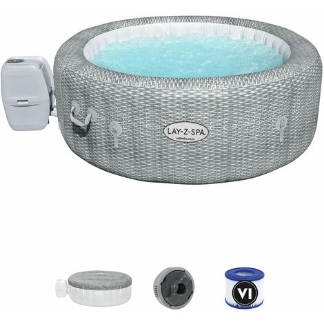 Spa Gonflable Bestway Lay-Z-Spa Honolulu Pour 4-6 personnes Rond 196x71 cm
