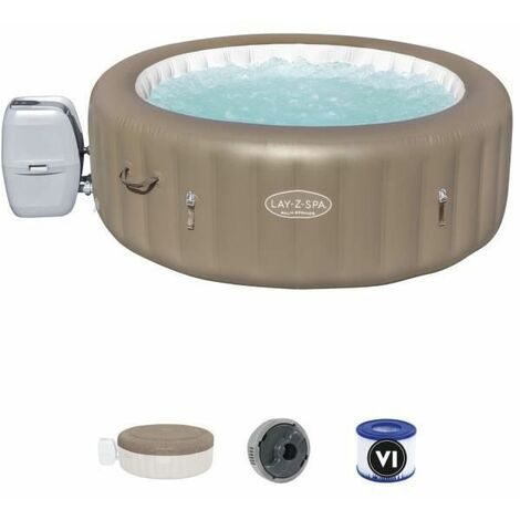 Spa Gonflable Bestway Lay-Z-Spa Palm Spring Pour 4-6 personnes Rond 196x71 cm