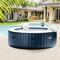Spa Gonflable Intex Pure Spa Plus Bulles Navy