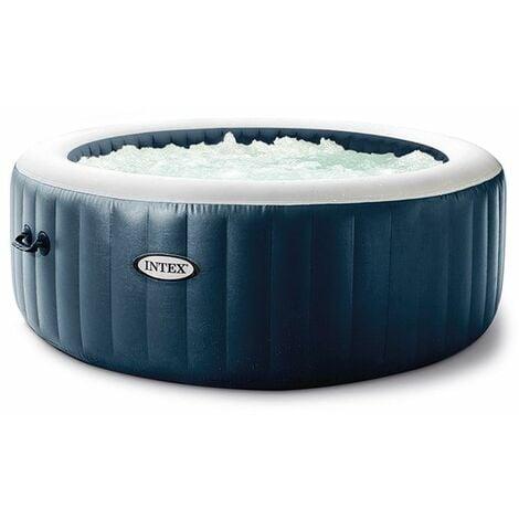 Spa gonflable Intex PureSpa Blue Navy 4 places - Bleu nuit
