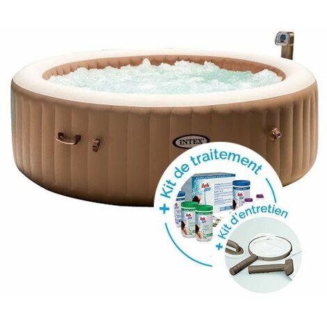 spa gonflable intex purespa bulles 6 personnes kit d. Black Bedroom Furniture Sets. Home Design Ideas