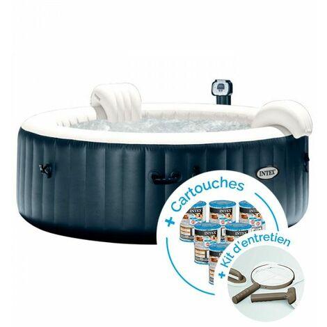spa gonflable intex purespa plus bulles 4 personnes 12. Black Bedroom Furniture Sets. Home Design Ideas